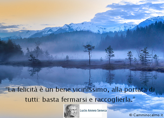 Seneca felicità
